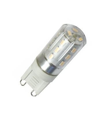 Bombilla LED G9 2W 230V 49x15mm 3000K