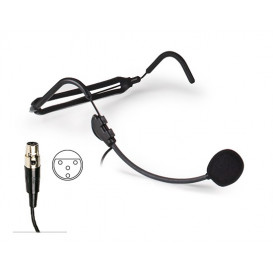 Microfono Cabeza Diadema Electrect MiniXLR