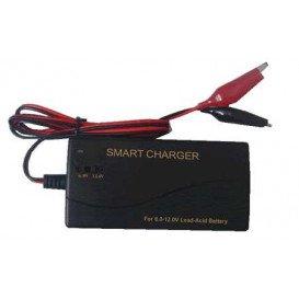 Cargador Bateria PLOMO 6V-12V 1000mA AUTOMATICO CHP6121000AEV