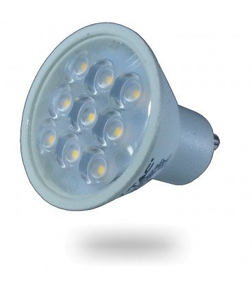 Bombilla LED GU10 3W 200Lm 38º 3000K