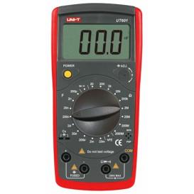 Capacimetro Digital de 200pF a 20mF+20 a 2000mg Oh