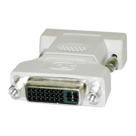 Adaptador DVI 24+5 Hembra a DVI 24+5 Hembra