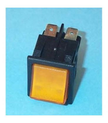 Interruptor Bipolar Amarillo 14AG813 49HF037