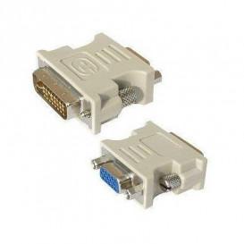 Adaptador DVI 24+1 a VGA 15 pines HD