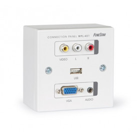 Panel Conexion VGA AV RCA JACK USB