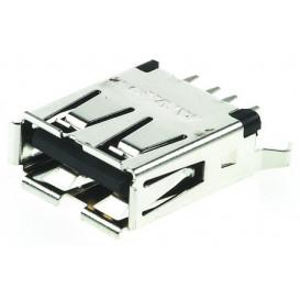 Base USB A Hembra Cto.Impreso recto