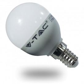 Bombilla LED ESFERICA E14 6W P45 6000K