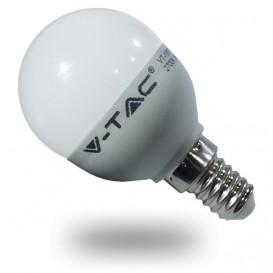 Bombilla LED ESFERICA E14 6W P45 3000K