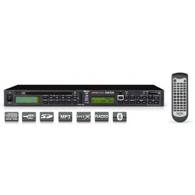Reproductor DVD-MP3 USB BLUETOOTH RACK 19in