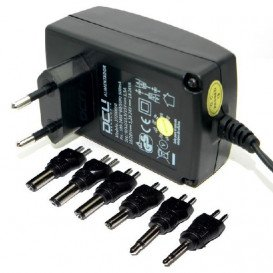 Alimentador Universal 9V-24V 1,5Amp 8 conectores
