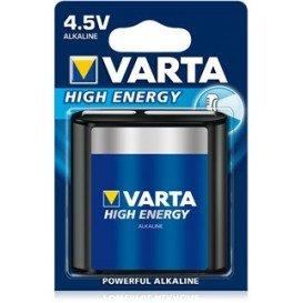 Pila 3LR12 Alcalina HIGH ENERGY VARTA 4,5V BLx1 tipo Petaca