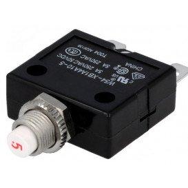 Interruptor Magnetotermico 250VCA 50VCC 5A Tuerca
