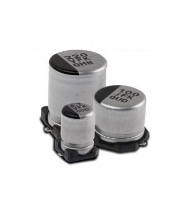 22uF 50VSMD Condensador Electrolitico 6,3x5,3mm