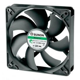 Ventilador 12Vdc medidas 120X120X25mm 3 cables Friccion 5,4W  Sunon