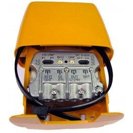 Amplificador Mastil 29dB 3e FM-UHF-FI