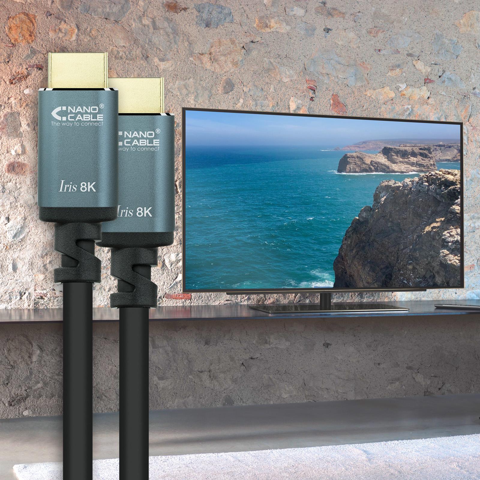 Cables HDMI 8K IRIS